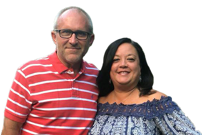 Franchisees Barry and Stacy Bratcher